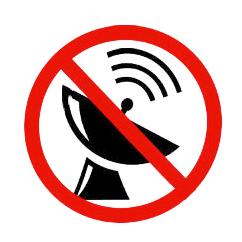 Сигнал GPS не доступен
