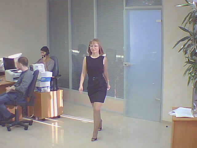 Фотоснимок с офисной GSM-камеры