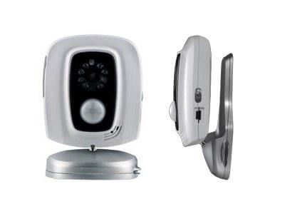 Компактная камера видеонаблюдения с датчиком охраны и записью на Flash-карту