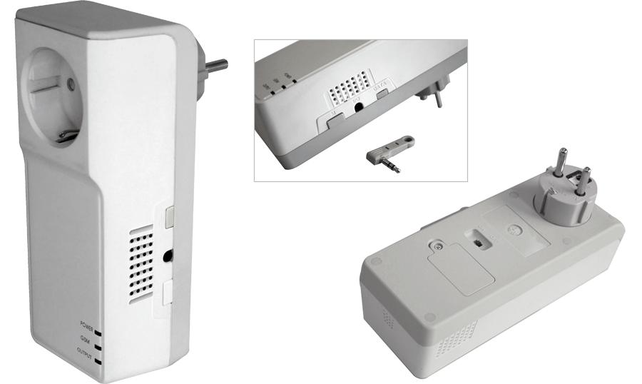 GSM-розетка с термометром ReVizor R2