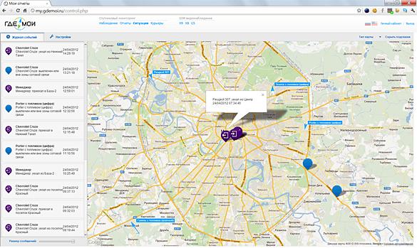 Ситуационный мониторинг - приложение для диспетчера, входящее в состав системы мониторинга