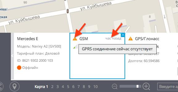 Актуальность данных в виджетах инфо-панели