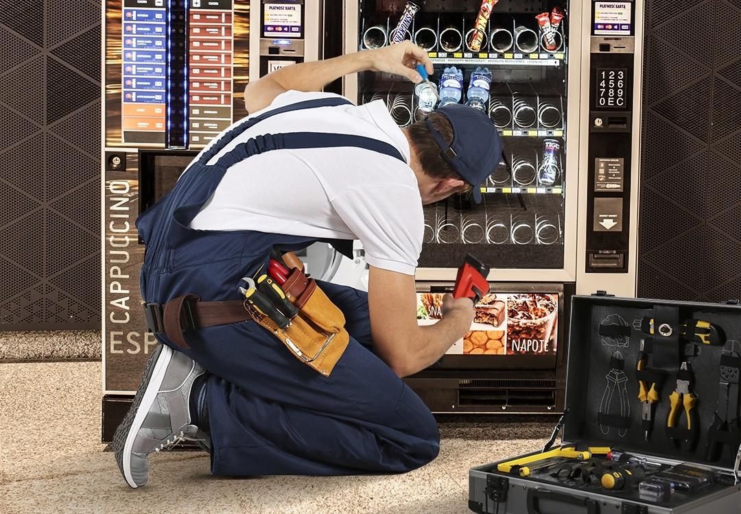 Сервисное обслуживание торговых автоматов
