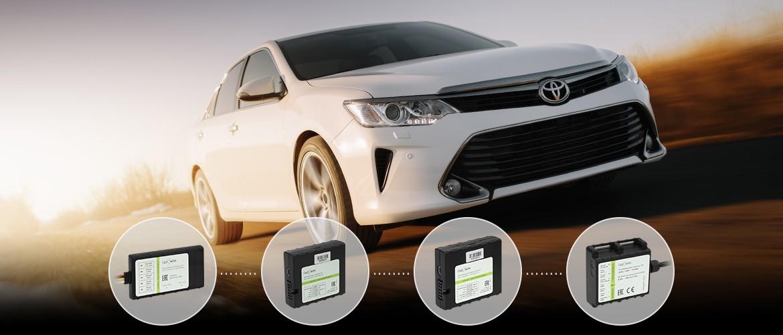 GPS-маячки оснащены проводной системой для подключения к бортовой сети. Большинство моделей имеет резервный аккумулятор для автономной работы