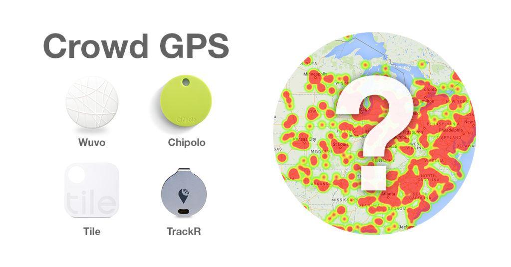 Crowd GPS трекинг