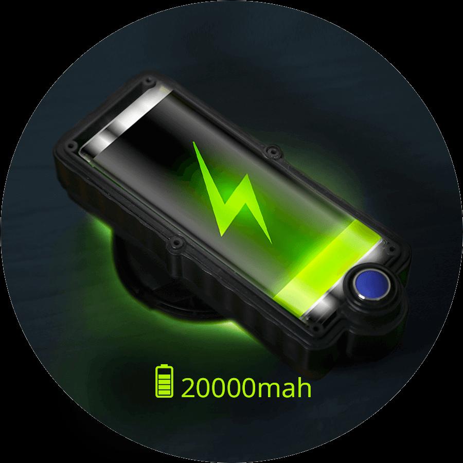 Колоссальная емкость аккумулятора