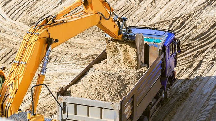 Стройфирма: спецтехника на стройплощадке