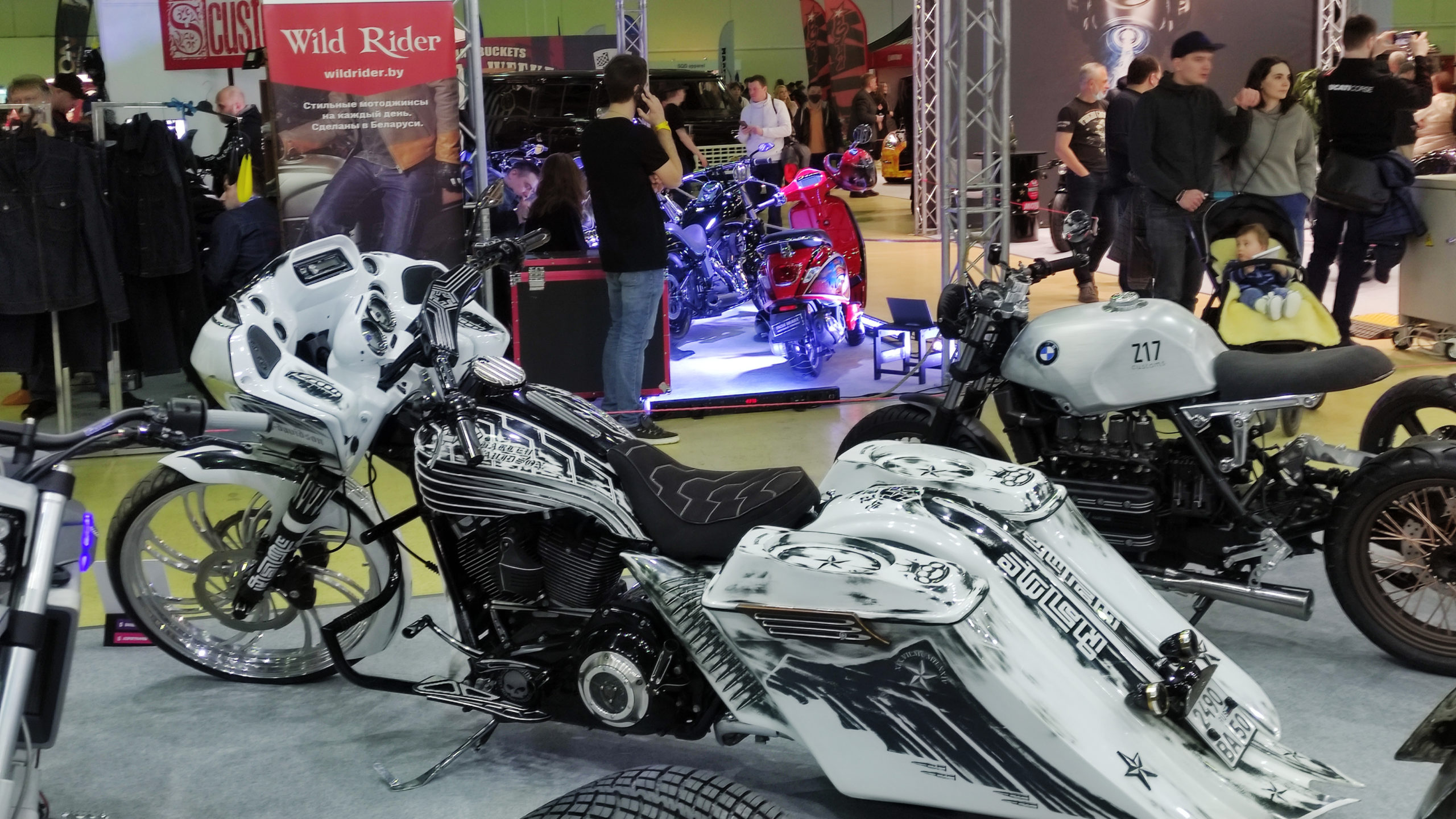 Выставка Мотовесна 2021: мототехника и решения для её безопасности
